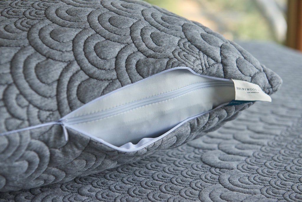 Crystal Cove Activated Charcoal Pillow